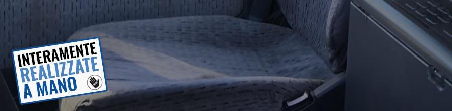 LKW Sitzfläche mit Bezug / LKW Sitzkissen